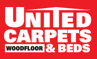 United Carpets, Wood Floors and Beds logo