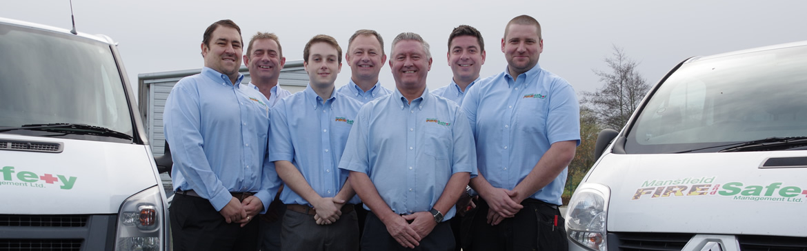The Mansfield Fire & Safety Team